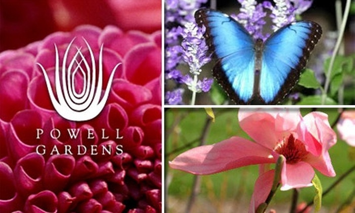 Powell Gardens - Jackson: $30 for a One-Year Two-Adult Plus Children Membership at Powell Gardens