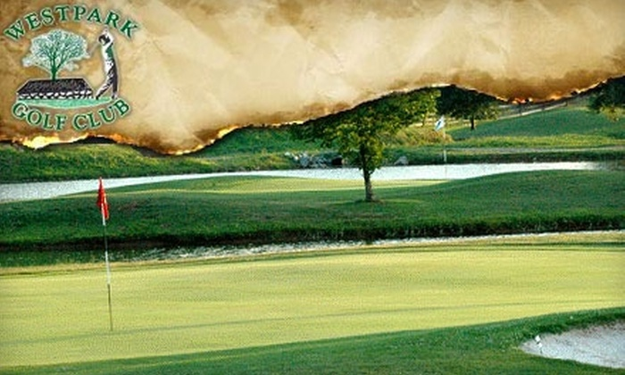 Westpark Golf Club - Leesburg Country Club: $45 for Indoor/Outdoor Golf Lesson with Video Analysis from the MPACT Golf Program in Leesburg ($90 Value)