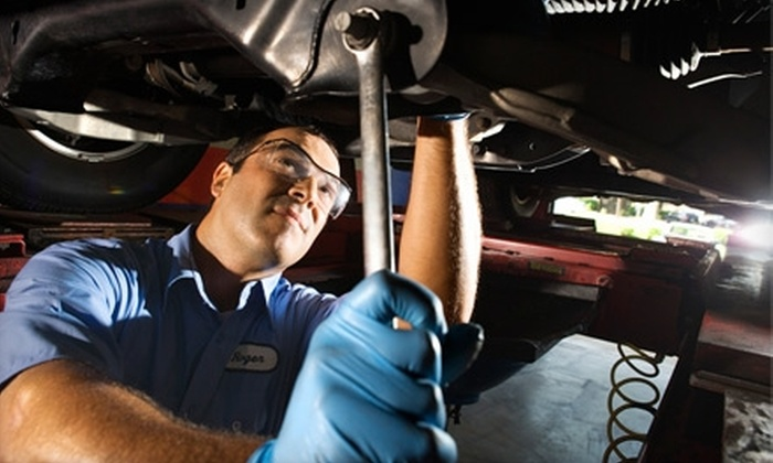 Belvidere Auto Maintenance - Belvidere: $35 for a Four-Wheel Alignment at Belvidere Auto Maintenance ($79.95 Value)