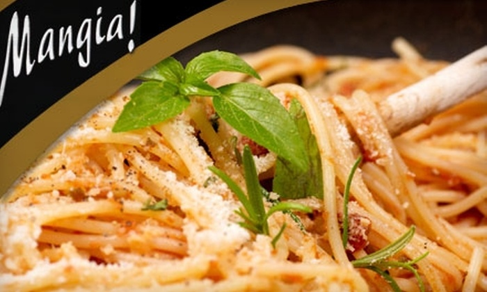 Mangia - Allentown / Reading: $15 for $30 Worth of Italian Dinner Fare and Drinks at Mangia! (or $5 for $10 Worth of Lunch) in Mohnton