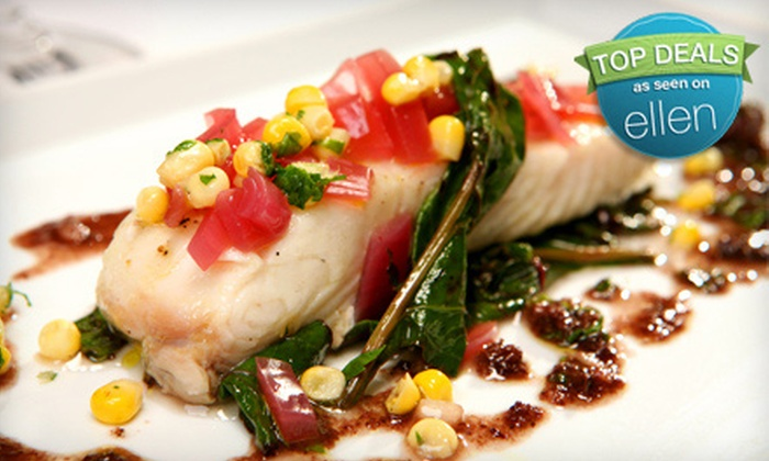 Oceanique - Chicago: $40 for Chef's Five-Course French-Inspired Seafood-Tasting Menu at Oceanique in Evanston ($80 Value)