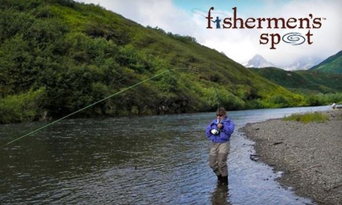 Fishermen's Spot - Van Nuys: $25 for Fly-Casting Lesson at Fishermen's Spot ($50 Value)