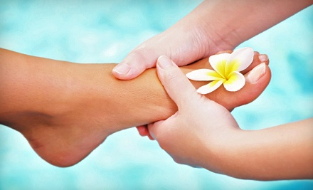 One 30-Minute Reflexology Session & One 20-Minute Far-Infrared Sauna Session (a $90 value)  - Michaela's Grotto in Beltsville