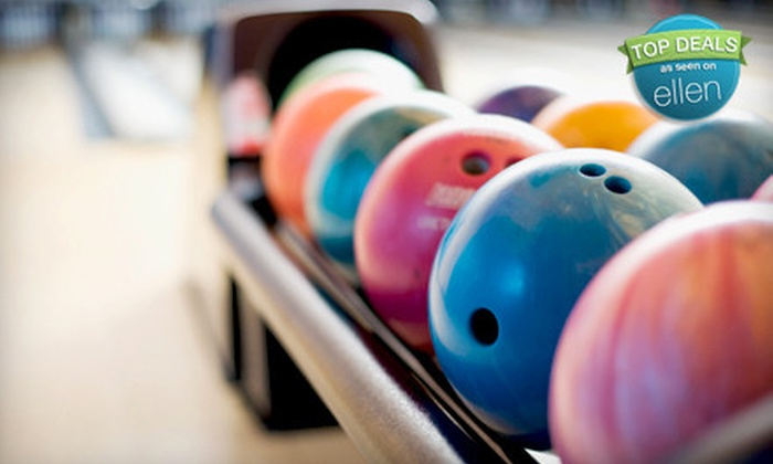 Ham Lake Lanes - Ham Lake: $29 for Bowling Outing with Pizza and Drinks for Up to Five People at Ham Lake Lanes (Up to $72.22 Value)