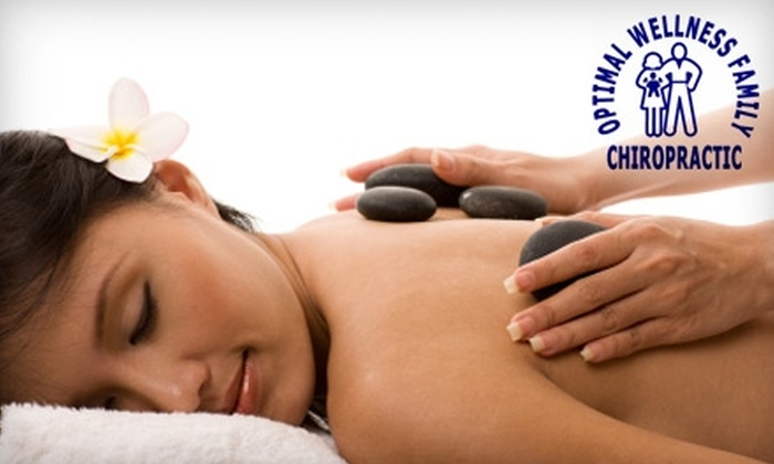 Optimal Wellness Family Chiropractic - Royal Oak: $30 for a One-Hour Hot-Stone Massage at Optimal Wellness Family Chiropractic ($60 Value)