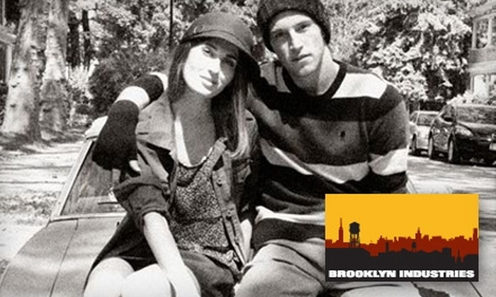 Brooklyn Industries - Back Bay: $20 for $40 Worth of Stylish Apparel and Accessories at Brooklyn Industries