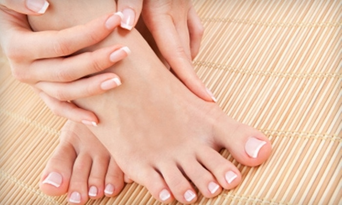 Simply Charmed Boutique & Skin - Gig Harbor: $29 for a Mani-Pedi at Simply Charmed in Gig Harbor ($60 Value)