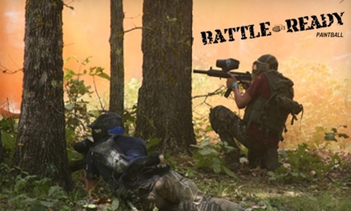 D-Day Adventure Park - Wyandotte: $10 for an All-Day Paintball Admission to Bunker at Battle Ready Paintball in Wyandotte ($20 Value)