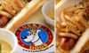 Lucky Dogs - Cow Hollow: $10 for $20 Worth of Gourmet Hot Dogs and Drinks at Lucky Dogs