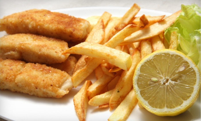 Waves Seafood and Grill - Bridgewater: Fish and Chips for Two or $20 for $40 Worth of Seafood and American Fare at Waves Seafood and Grill in Bridgewater