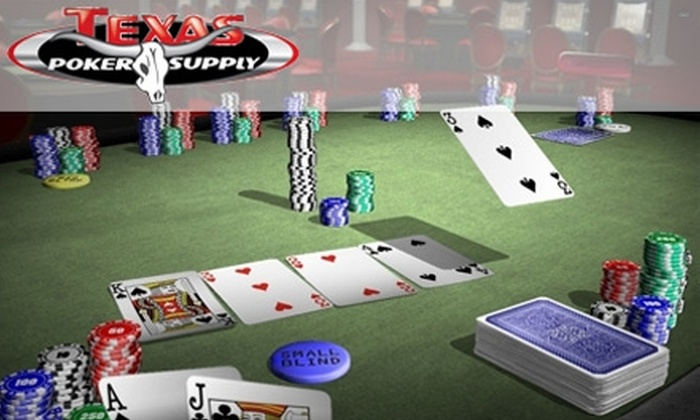Texas Poker Supply - Windsor Hills: $25 for a Beginner's Texas Hold 'Em Lesson at Texas Poker Supply
