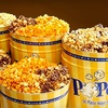 Half Off Gourmet Popcorn at Poptions!