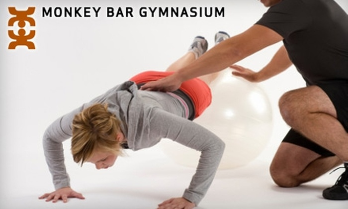 Monkey Bar Gymnasium - Marquette: $49 for a One-Month Membership to Monkey Bar Gymnasium