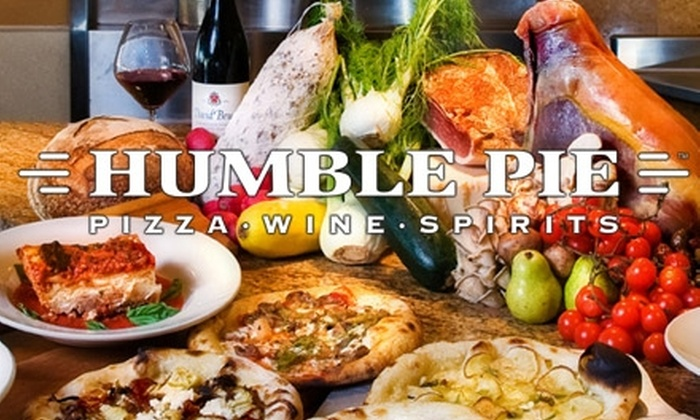 Humble Pie - Multiple Locations: $15 for $30 Worth of Pizza and Drinks at Humble Pie. Choose From Two Locations.