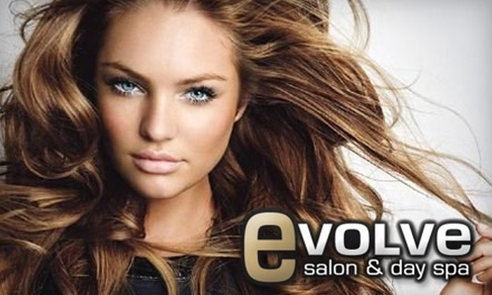 Evolve Salon & Day Spa - Holladay: $30 for $60 Worth of Services at Evolve Salon & Day Spa