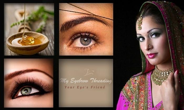Sameera Eyebrow Threading - Fullerton: $19 for a Brazilian-Wax and Eyebrow-Threading Package at Sameera Eyebrow Threading ($41 Value)