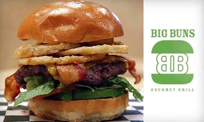 Big Buns Gourmet Grill - Ballston - Virginia Square: $7 for $15 Worth of Burgers and More at Big Buns Gourmet Grill