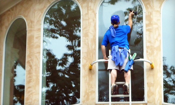 Starbrite Total Home Care - Downtown: Window Cleaning for 15, 25, or 35 Exterior Windows from Starbrite Total Home Care (Up to 80% Off)
