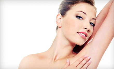 Three Laser Hair-Removal Sessions on a Small Area ($598 Value) - New Image in Williamsville