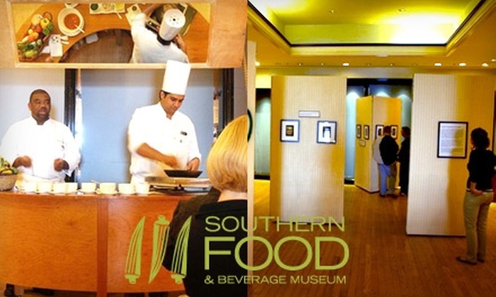 Southern Food and Beverage Museum - Central Business District: $5 Admission to the Southern Food and Beverage Museum