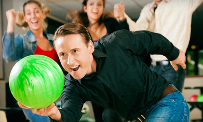 Circle Bowl - Broadmoor/Sherwood: Bowling Outing for Two or Four at Circle Bowl