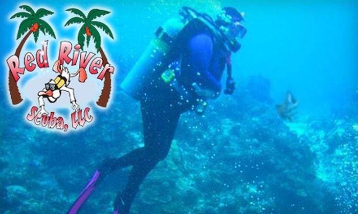 Red River Scuba - Bossier City: $15 for a PADI Discover-Scuba Diving Class at Red River Scuba