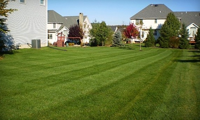 R-green Organic Turf Fertilization Systems - Hanover: $45 for a Full-Lawn-Fertilization Treatment from R-green Organic Turf Fertilization Systems