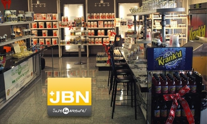 Just Be Natural - Hanover: $19 for $40 Worth of JBN-Brand Vitamins, Minerals, and Supplements at Just Be Natural