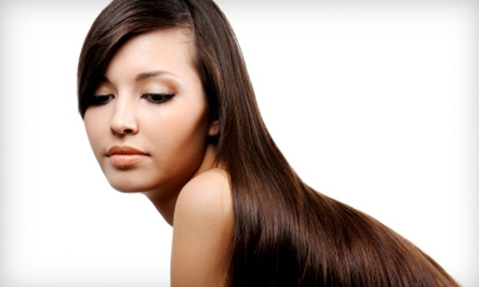Kiersten & Company - Tallahassee: $149 for a Global Keratin Hair-Taming Treatment with Juvexin at Kiersten & Company (Up to $350 Value)