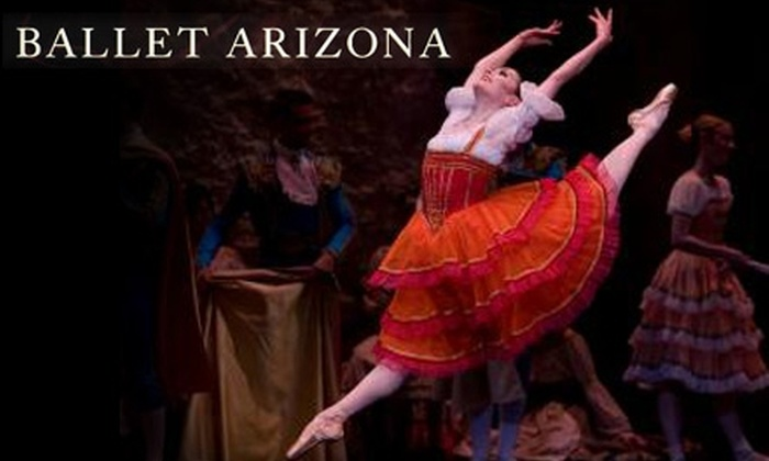 """Ballet Arizona - Downtown Phoenix: One Ticket to Ballet Arizona's """"Don Quixote"""" Performed with The Phoenix Symphony (Up to $121 Value). Choose from Three Seating Options."""