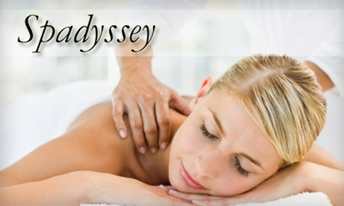 Spadyssey Day Spa - Providence: $40 for Your Choice of Select Hour-Long Massages at Spadyssey Day Spa (Up to $95 Value)