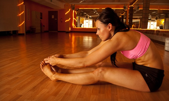 Hot Yoga of Mill Creek - Martha Lake: $29 for 20 Hot-Yoga Classes at Hot Yoga of Mill Creek in Lynnwood ($220 Value)