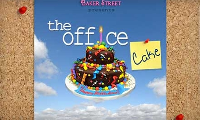 The Office Cake - Miami: $12 for $25 Worth of Cakes, Cupcakes, and Cookies at The Office Cake