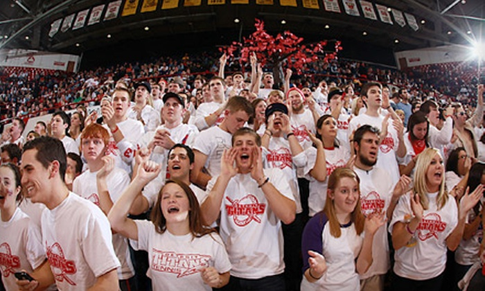 Detroit Titans Basketball - Mcnichols: 5 or 10 Tickets to University of Detroit Mercy Basketball Games at Calihan Hall (Up to 71% Off)