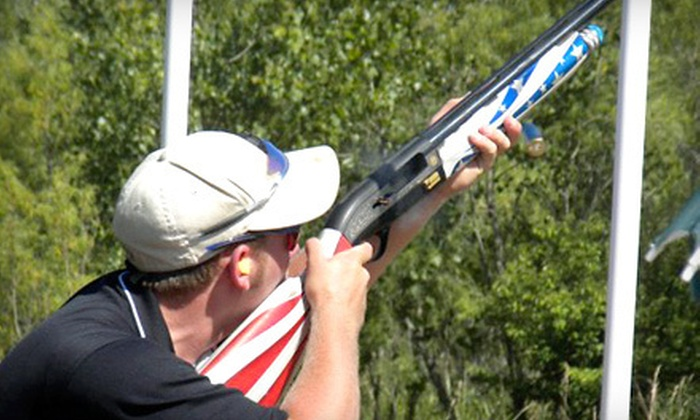 National Shooting Complex - Far West Side: Sporting-Clays Class for One or Two at National Shooting Complex (Up to 54% Off)