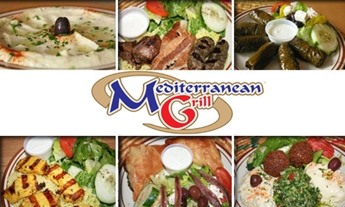 Mediterranean Grill  - Atlanta-Decatur: $10 for $25 Worth of Gyros, Falafel, Baklava, and More at Mediterranean Grill