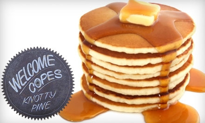 Cope's Knotty Pine Cafe - Bakersfield: $7 for $15 Worth of Home-Style Diner Cuisine and Drinks at Cope's Knotty Pine Cafe