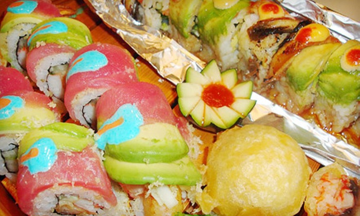 Shogun Japanese Restaurant - Coralville: Half Off Sushi and Steak for Dinner or Lunch at Shogun Japanese Restaurant