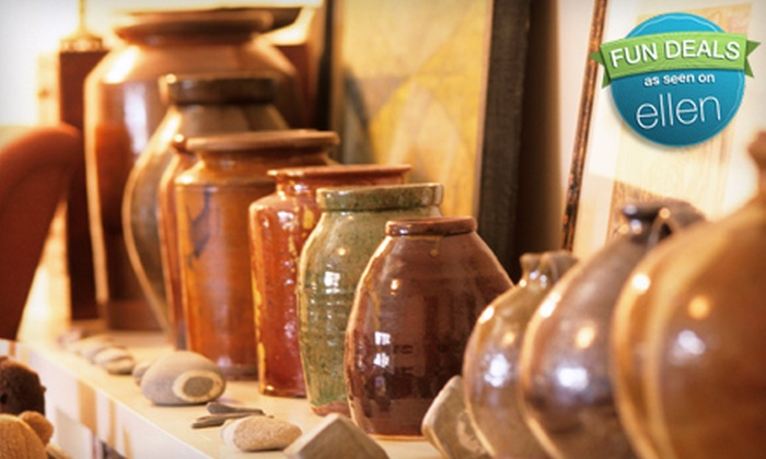 Ceramics By Tess - Springfield: $10 for $20 Worth of Paint-Your-Own Pottery or Children's Clay-Making Class at Ceramics by Tess in Katy (Up to 57% Off)