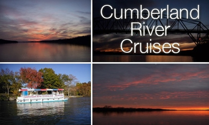 Cumberland River Cruises - 5: $8 for an Adult Boat Cruise Tour from Cumberland River Cruises ($16 Value)