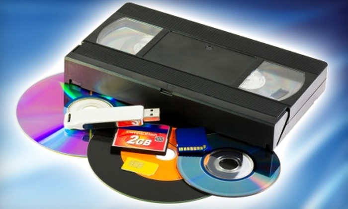 The Video Editor - Syracuse: $20 for Two Videotapes Transferred to Two DVDs from The Video Editor ($40 Value)