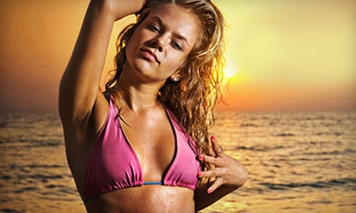 Healthy Tan Airbrush Tanning Studio - Loomis: $20 for One Full-Body Airbrush Tan at Healthy Tan Airbrush Tanning Studio in Loomis ($40 Value)