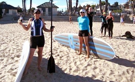 SUP Shack: 90-Minute Beginner Standup Paddleboard Lesson and $100 Toward an Angulo Board Purchase - SUP Shack in Santa Cruz