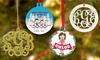 Up to 50% Off Personalized Christmas Ornament