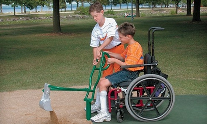People for Parks: Donate $5 to Help People for Parks Equip a Universal-Access Playground for Children with Disabilities