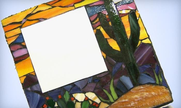 Sonoran Glass Art Academy - Barrio Viejo: $50 for a Mosaic Mirror Class at Sonoran Glass Art Academy ($115 Value)