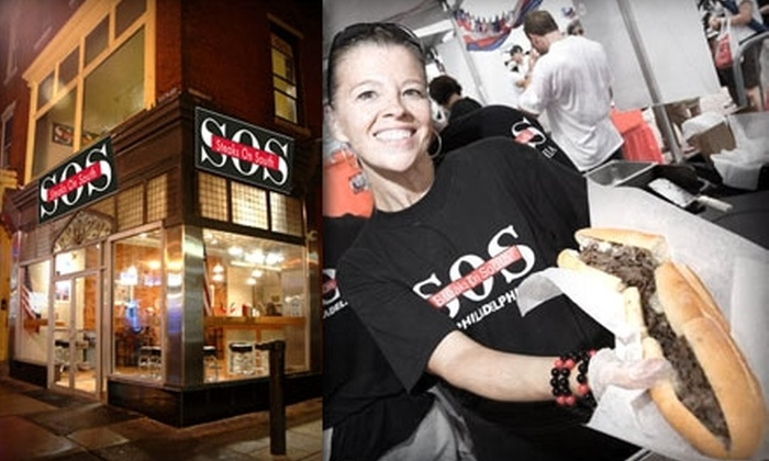 Steaks on South - Queen Village/ Pennsport: $5 for $10 Worth of Cheesesteaks and Other Inviting Eats at Steaks on South