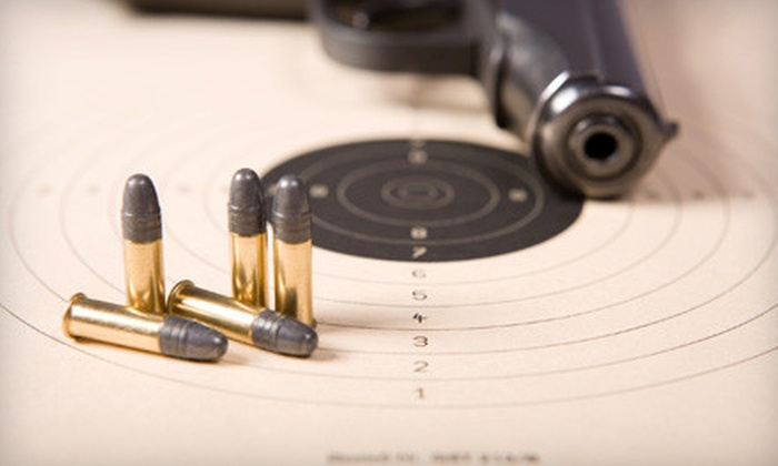 Safe Firearm Training - Fort Worth: Shooting-Range Package with Safety Course, Ammo, and Protection for One or Two at Safe Firearm Training (Up to 54% Off)