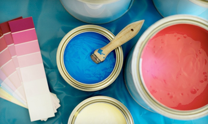 European Glass & Paint - Centretown - Downtown: Paint and Supplies or Window Coverings at European Glass & Paint (Up to 67% Off)