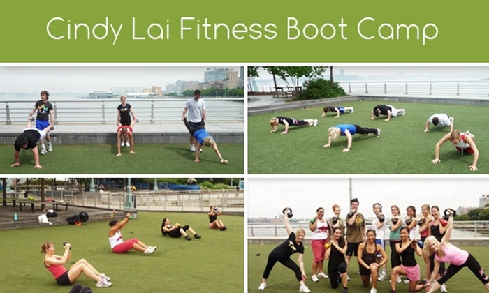 Cindy Lai Fitness - New York City: $50 for 3 Bootcamp Sessions with Cindy Lai Fitness; 4th Class Free for New Students